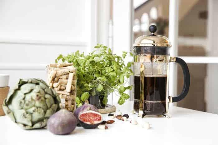 Kaffee aus der French Press von Bodum