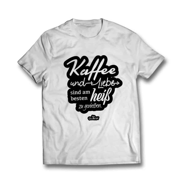 T-Shirt heiß genießen