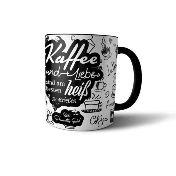 Kaffeepott heiß genießen